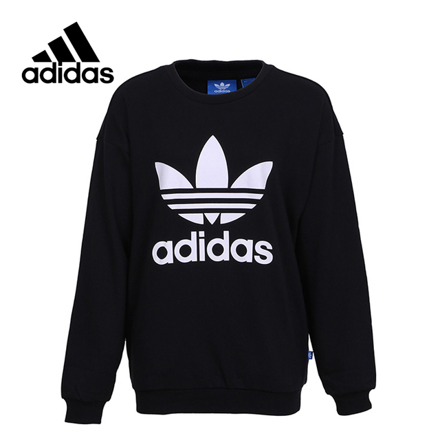 cd76dfc86848df New Arrival Official adidas Women's Pullover Breathable O-Neck Leisure  Sportswear