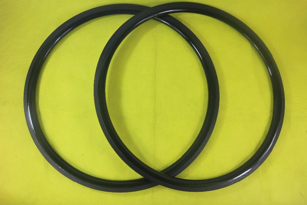 700c 35T 35mm Tubular road bicycle carbon rims UD 3K 12K matte glossy 16H 36H 26mm