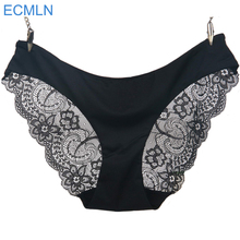 Women's sexy lace panties seamless panty briefs