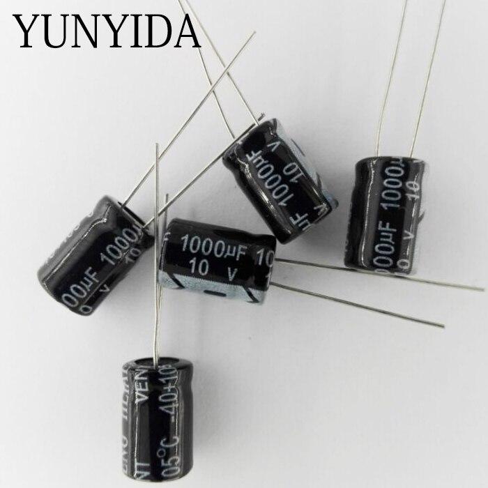 Aluminum Electrolytic Capacitor 10V  1000UF  8*12mm   20PCS