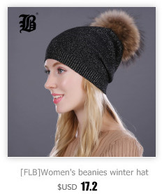 [FLB] Wholesale Real Mink Fur Pom Poms Knitted Hat Ball Beanies Winter Hat For Women Girl 'S Wool Hat Cotton Skullies Female Cap 80
