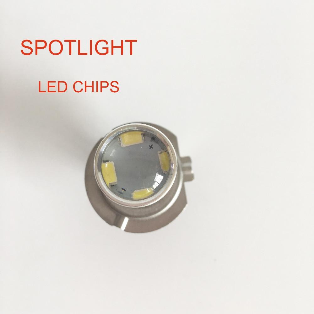 Plug & Play 60W H7 LED luči za meglo avtomobila H11 H8 H9 9005 HB3 - Avtomobilske luči - Fotografija 2