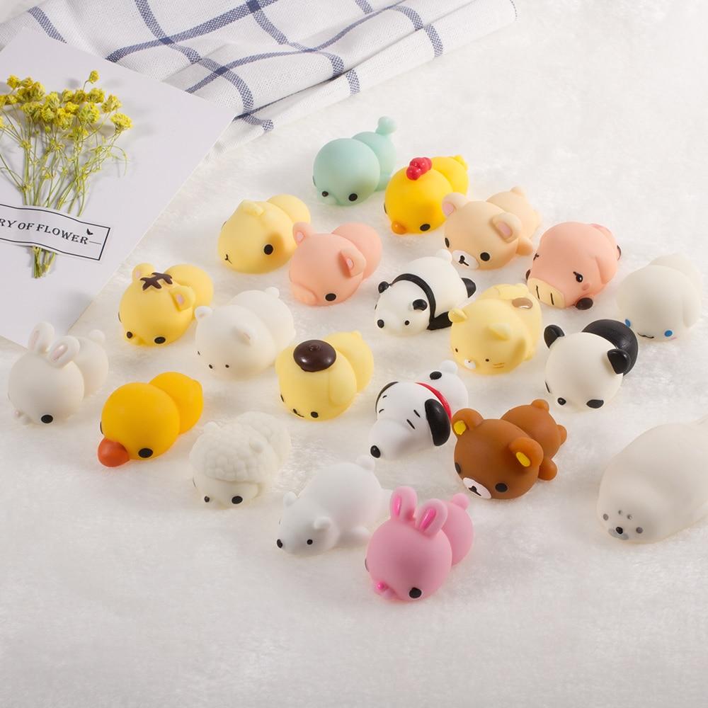 Perfumado Squishy Juguetes Animal de la Historieta Suave de Silicona - Nuevos juguetes y juegos - foto 5