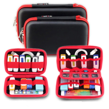 New Portable Digital Products Pouch Travel Storage Bag for HDD, Phone,USB Flash Drive, Earphone, Health USB Key ,SD Card GH007