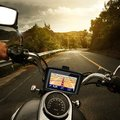 "upgrade Motorcycles Vehicle GPS 4.3"" waterproof Motorcycle bike GPS Navigation Touchscreen NAV Bluetooth FM + Map + mount+holder"