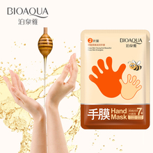 BIOAQUA 2pcs 1pair Honey Hand Mask Whitening Moisturizing An