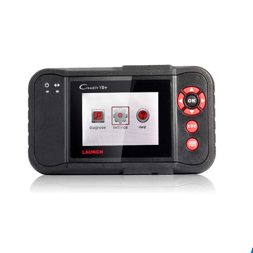 Цена за Оригинал ЗАПУСК Сканера X431 Старт Creader VII + Creader 7 + OBDII EOBD Диагностический Инструмент