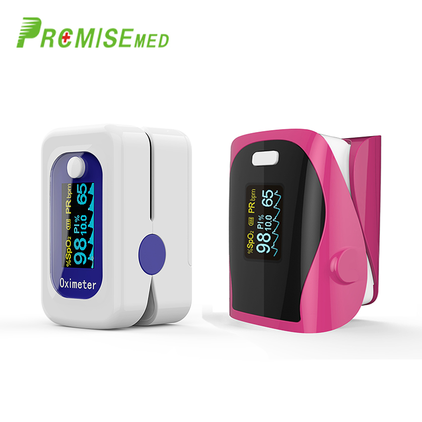PROMISE  M160blue+F9red Household Health Monitors Finger Pulse Oximeter ABS Silicone Sensor Equipment PulsioximetroPROMISE  M160blue+F9red Household Health Monitors Finger Pulse Oximeter ABS Silicone Sensor Equipment Pulsioximetro