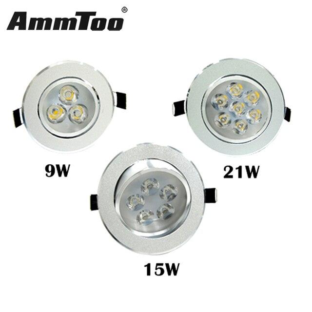 Led strahler 9 watt 45 watt Decke Downlight Einbau LED Birne Lampe ...