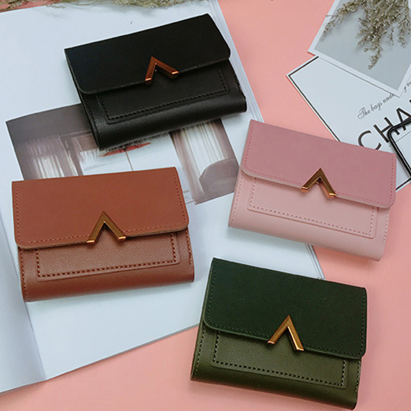 AKSLXB 2018 Fashion Card Coin Mini Leather Wallet Women Small Hot Lady Wallet Female Purse Women Zipper Clutch Purse Female Bag women coin purses short coin bag female small purse patent leather clutch wallet ladies mini purse card holders porte monnaie