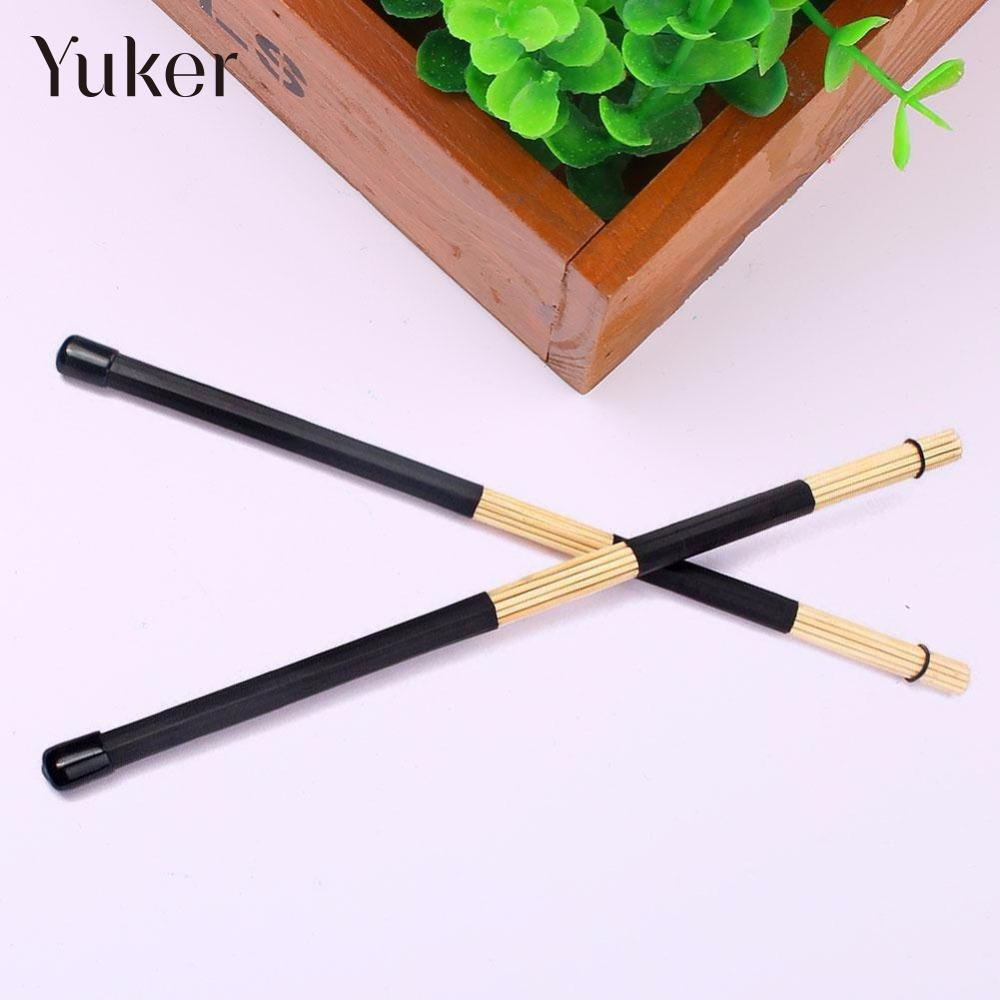 1 pair 8a sizes drum sticks 40cm lightweight bamboo brushes bundle rute jazz rod durable. Black Bedroom Furniture Sets. Home Design Ideas