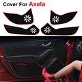 Car styling protecter puerta pad para mazda 3 axela bm 2013 2014 2015 2016 hatchback sedan anti-kick mat envío libre