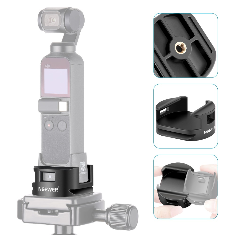 DJI Osmo Pocket Accessories WiFi Base Tripod Adapter with 1/4 ...