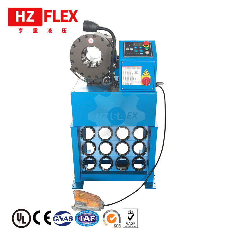 2018 HZFLEX HZ-32D climatisation techmaflex tuyau de sertissage prix de la machine en inde lame de coupure