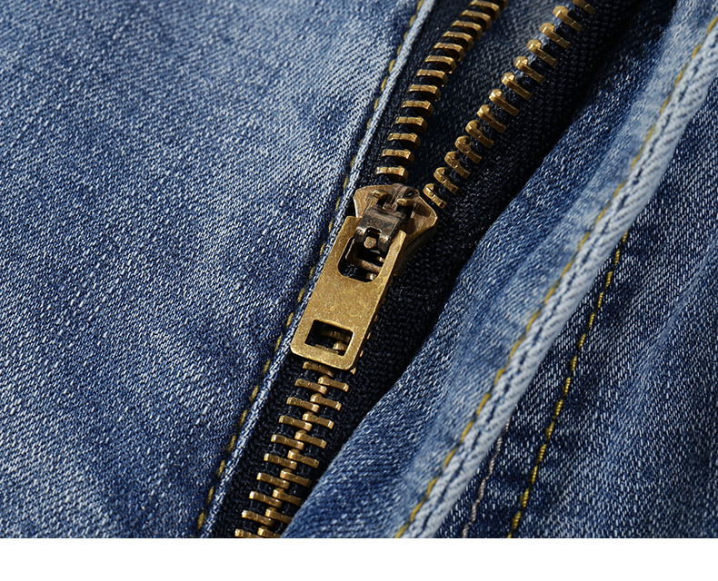 2020 Jeans Men Fashion Business Casual Straight Slim Fit Ultrathin Breathable Stretch Retro Blue Summer Denim Pants Plus Size 40 16