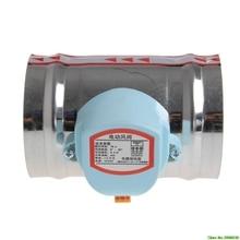 """4 """"220 فولت التيار المتناوب الفولاذ المقاوم للصدأ صمام الملف اللولبي الكهربائي المثبط بخار الماء الضيق"""