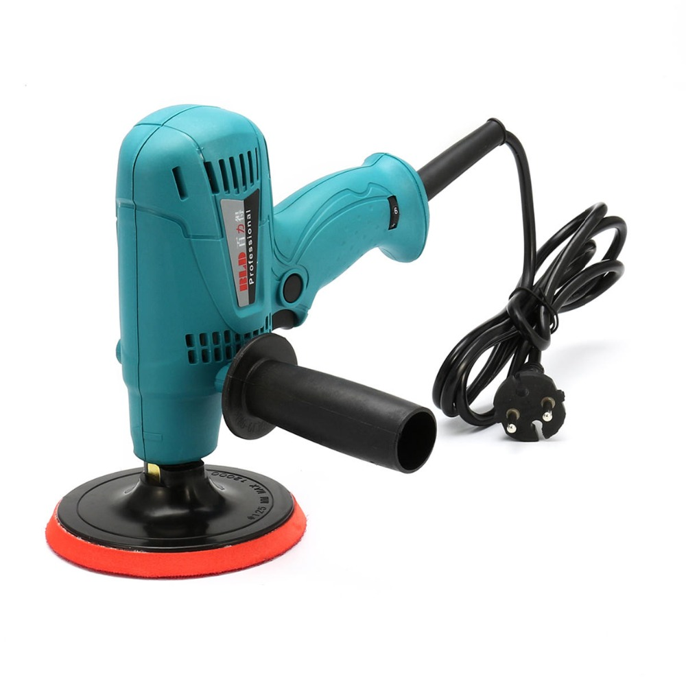 цена на 600W 220V Car Buffer Polisher Waxer Tool Electric Polishing Machine Buffing Wax HT1770
