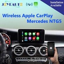 Aftermarket Беспроводной OEM Apple CarPlay Retrofit Mercedes C Class W205 GLC X253 15-17 NTG5 автомобильный игровой интерфейс с обратной камерой