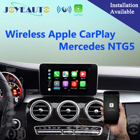 Aftermarket Wireless OEM Apple CarPlay Retrofit Mercedes C Class W205 GLC X253 15 17 NTG5 Car Play Interface with Reverse Camera