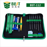 22pcs Cell Phone Repair Kit Opening Pry Tool Repair Kit for iPhone iPad Android Cell Phone Tablet PC Laptop BST 112