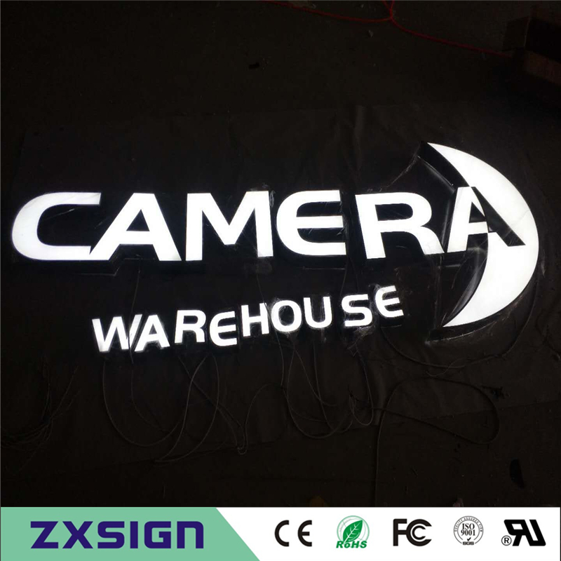 Factory Outlet  Alibaba Express Hot Selling Outdoor Acrylic LED Letter Sign, Advertising Business Company Name Logo Signages