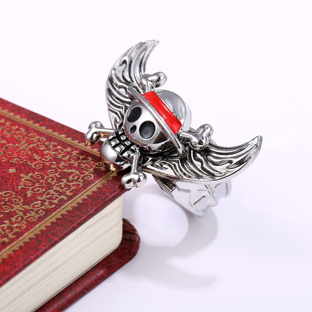 One Piece Series Angel Wings Ring