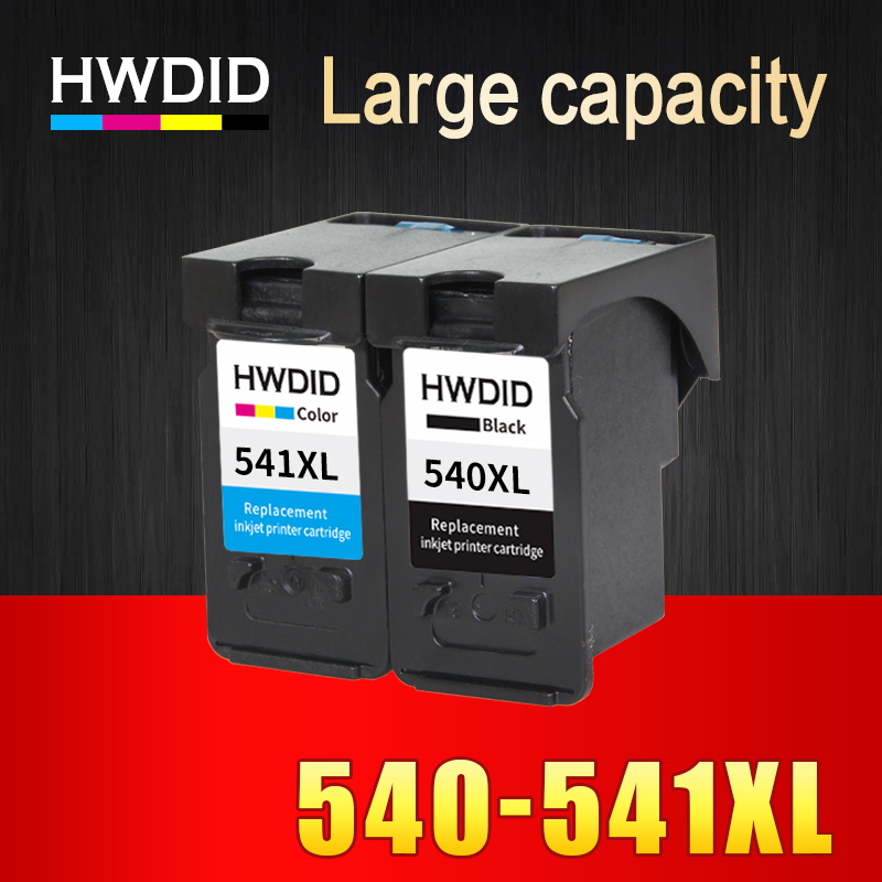 HWDID PG-540 CL-541 XL PG540 CL541 Refilled ink cartridge pg 540 ink for Canon Pixma MG2250 MG3150 MG3250 MG4150 MG4250 MX375 hisaint for canon 540xl 541xl pg 540 cl 541 ink cartridge for canon pixma mg2150 mg2250 3150 mg3250 inkjet printer free shipping