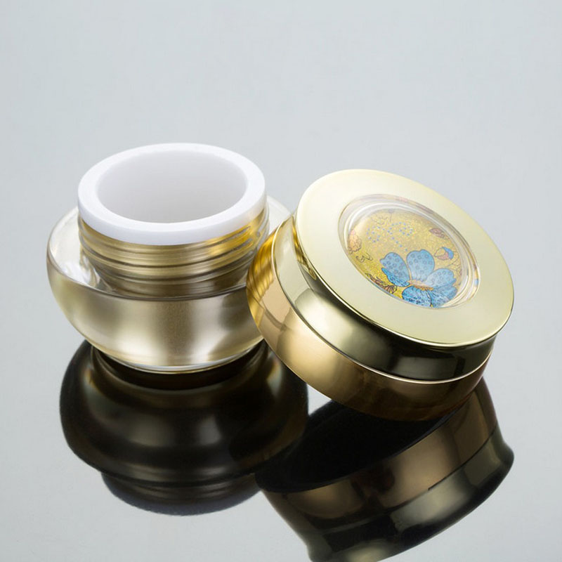 10pcs/Lot Plastic Sample Jar Box 15g  Small Pot Leak Proof Cream Jars Cosmetic Empty Makeup Loose Powder Containers