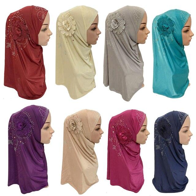 السيدات الإسلامية وشاح الرأس أغطية الرأس الحجاب مسلم غطاء داخلي التفاف وشاح شال رمضان العربية أميرة الحجاب غطاء كامل عمامة الحجاب