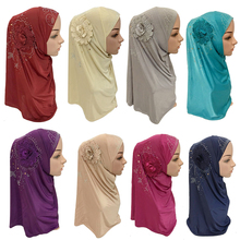 Islamskie panie szalik na głowę nakrycia głowy muzułmański hidżab wewnętrzna czapka Wrap szalik Ramadan Arab Amira chustka na głowę pełna okładka Turban hidżab