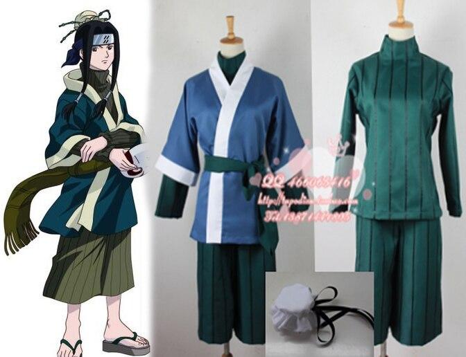 Japan Anime font b Naruto b font Haku font b Cosplay b font Costume for party