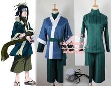 Япония аниме наруто Haku косплей костюм для ну вечеринку
