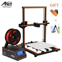 Anet E12 3D Printer Aluminium Alloy Frame Easy Assembly Large Printing Size 3D Printer DIY Kit Filament 3D Printing Machine