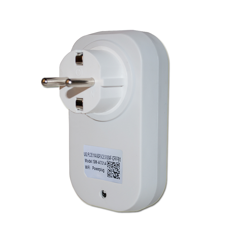 EU Power Plug Outlet yang Serasi Dengan Echo WIFI Wireless Remote Control Smart Home 110-240v