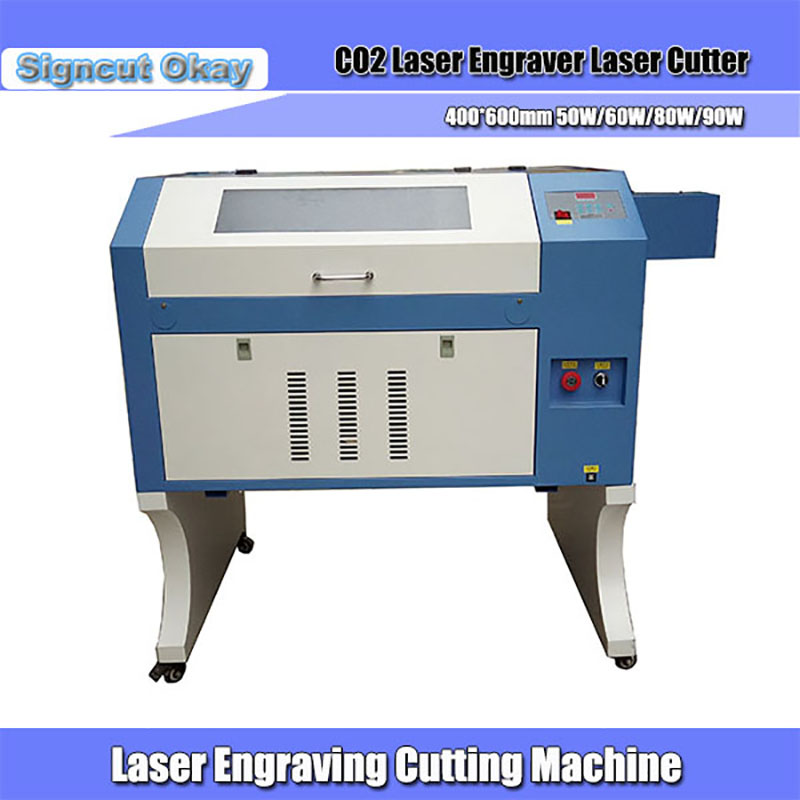 CO2 Laser Cutter 80W 400*600mm With USB Interface  Motorised Up& Down Honeycomb Worktable