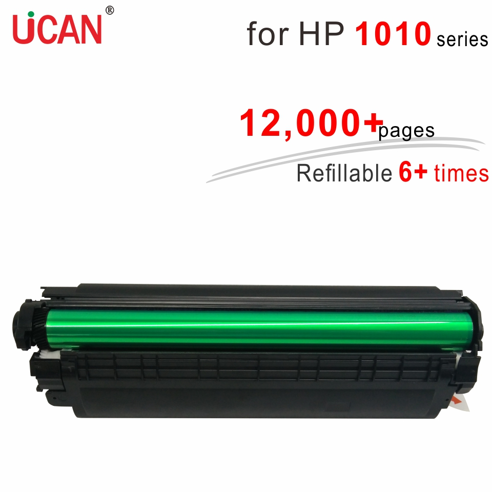 6 times Super Durable Toner Cartridges 12a Q2612a for Hp Laserjet 1010 1012 1015 1018 1020 Printer цена