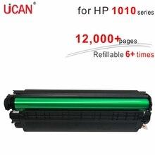 6 times Super Durable Toner Cartridges 12a Q2612a for Hp Laserjet 1010 1012 1015 1018 1020 Printer