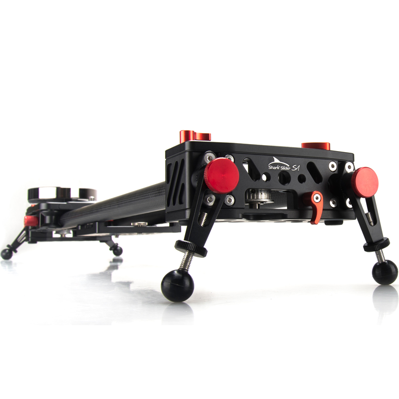 iFootage carbon fiber Shark Slider S1 1200mm camera slider video dolly track Portable dslr slider DSLR Camcorders professional цена и фото