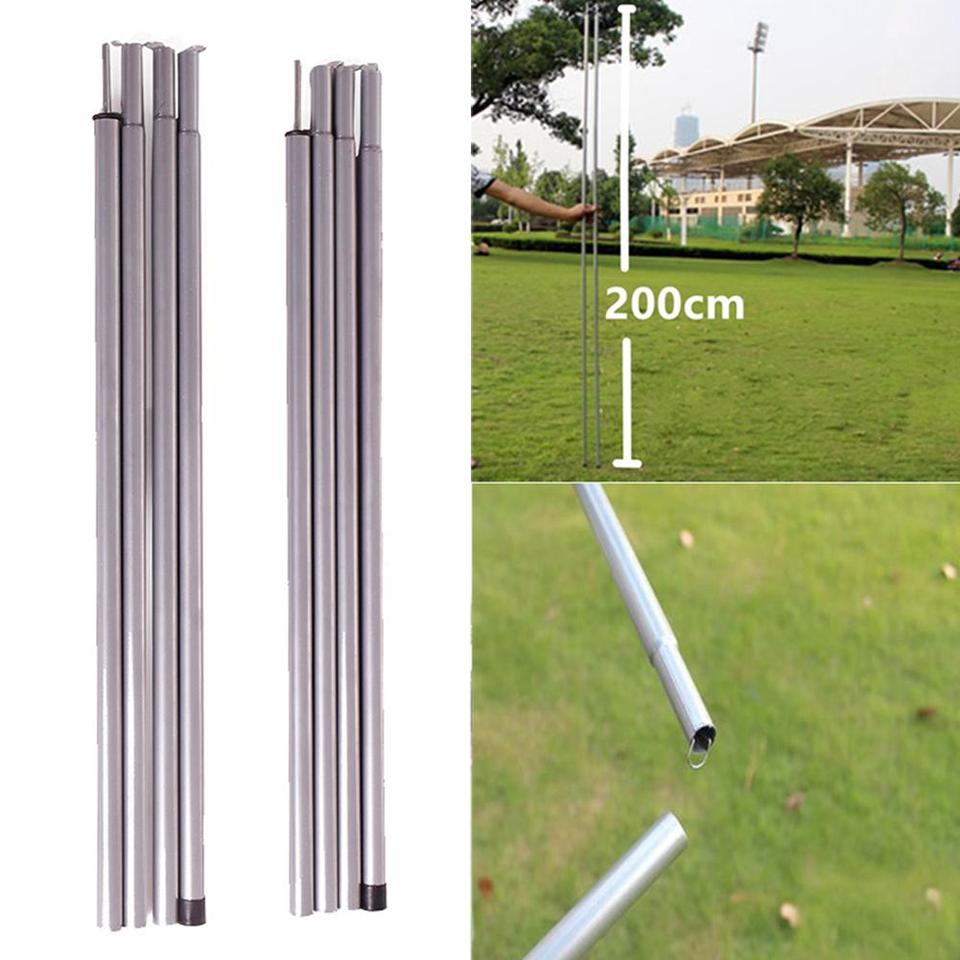 Steel Corrosion Resistant Folding Awning Rods Outdoor Tent Support Poles Tool
