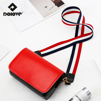 2019 Summer New Tide Women Bag Hong Kong Wide Shoulder Strap Messenger Bag Harajuku Wind Simple Small Handbags shoulder bag