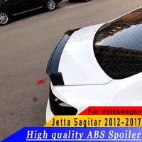 ABS جودة عالية تصميم عصري جديد سبويلر التمهيدي أو لتقوم بها بنفسك اللون الخلفي الجناح سبويلر لفولكس واجن جيتا ساجيتار 2012-2017 العام