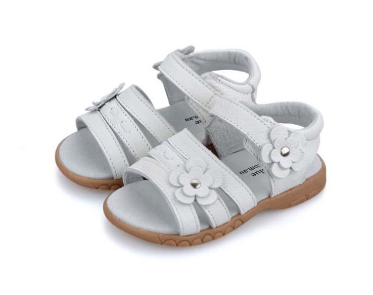 Lehmanahast sandaalid tüdrukutele