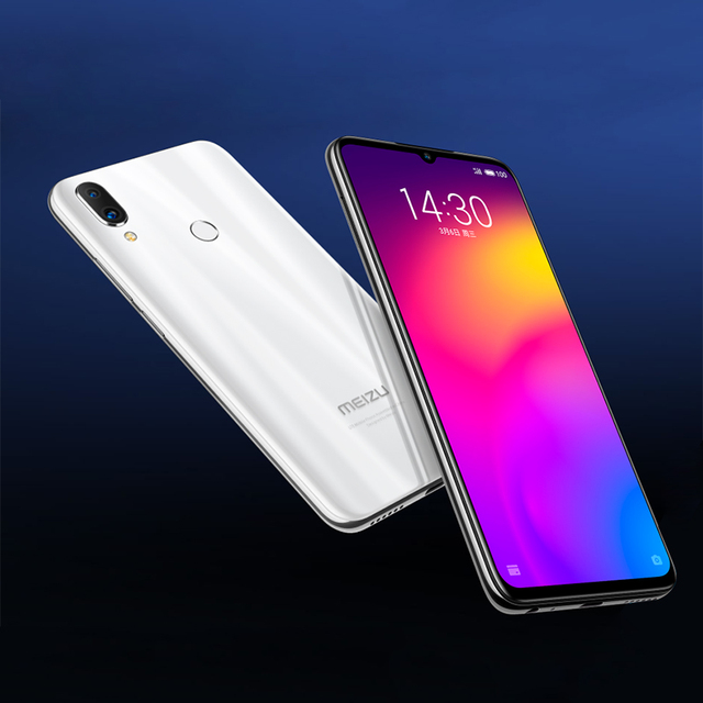 "Global Verrion Meizu Note9 teléfono 48.0MP Cámara 4GB RAM 64GB ROM 4G LTE Snapdragon 675 Octa Core 6,2 ""2244x1080 p FHD huella dactilar 5"