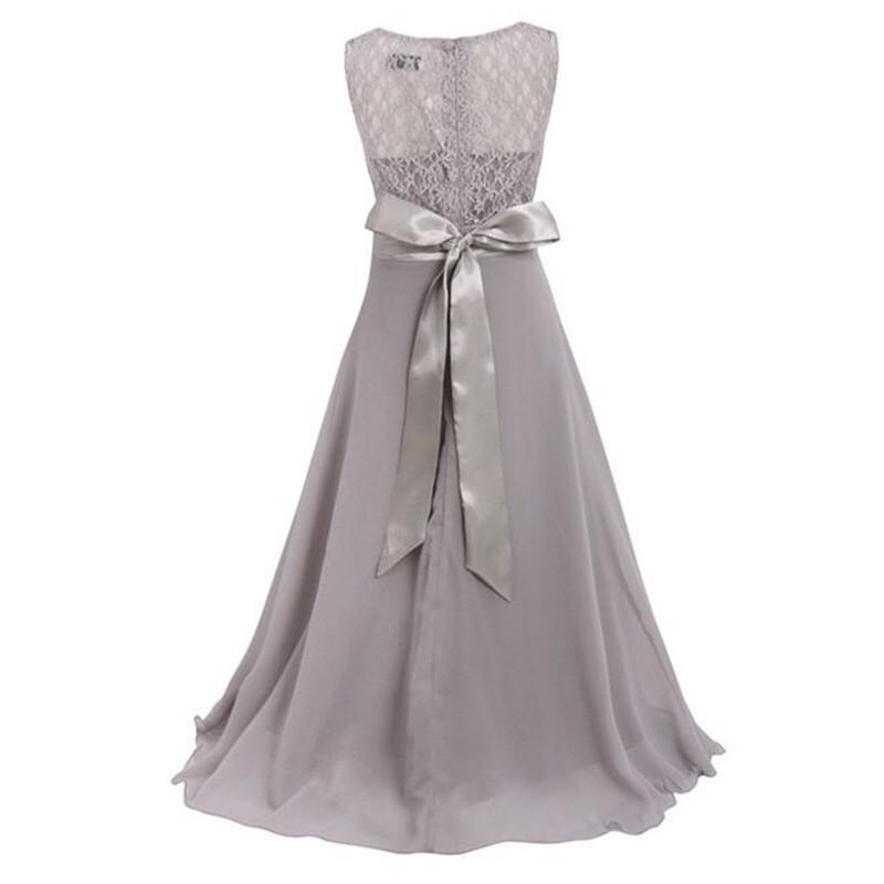 cb5272bd59f Летние вечерние платья для детей 5 16 лет для свадебной вечеринки ...