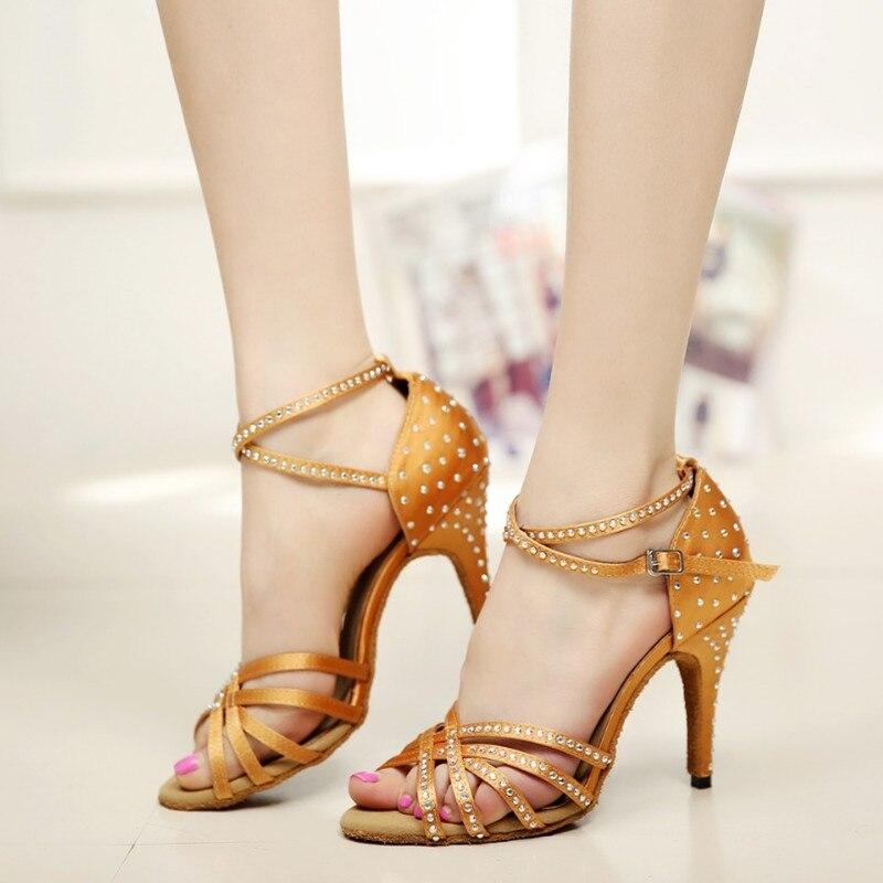 Aliexpress.com : Buy Woman Latin Ballroom Dancing Shoes