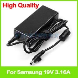 Ładowarka do laptopa ac zasilaczy  19 V 3.16A 60 W do Samsung R440 R478 R480 R523 R538 R540 Notebook