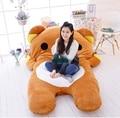Dorimytrader 200cm X 150cm Cartoon Rilakkuma Beanbag Giant Soft Plush Bear Double Bed Carpet Tatami Sofa, Free Shipping DY60333