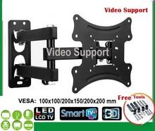 14-40 pulgadas LCD LED Soportes para Monitores TV Wall Mount movimiento completo soporte de la inclinación del eslabón giratorio basculante eml404