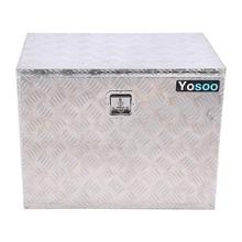 Зарубежный ящик для инструментов из алюминиевого сплава с ключами 600x410 мм автомобильные аксессуары