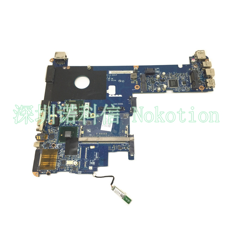 NOKOTION 629032-001 laptop motherboard for HP 2540p i5-560m cpu Mainboard ddr3 full test nokotion 809986 601 809986 001 laptop motherboard for hp pavilion 17 p day21amb6d0 a10 7050m cpu ddr3 mainboard full works